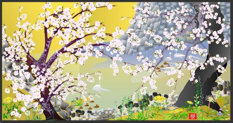 artex1 750x397 ศิลปะไร้ข้อจำกัด ศิลปินชาวญี่ปุ่นญี่ปุ่นสร้างงานกราฟฟิกจาก Microsoft Excel