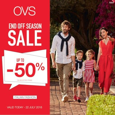 OVS END OF SEASON SALE 15 -