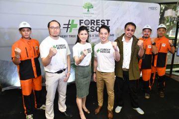 """THE FORESTIAS - เดอะ ฟอเรสเทียส์"" เปิดแคมเปญเพื่อสังคมครั้งยิ่งใหญ่  ""Forest Rescue - ฟอเรส เรสคิว"""