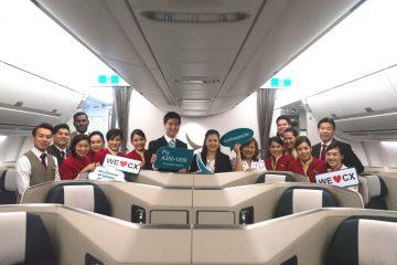 คาเธ่ย์ แปซิฟิคต้อนรับเครื่องบินแอร์บัส A350-1000 สู่ท่าอากาศยานสุวรรณภูมิ 12 -