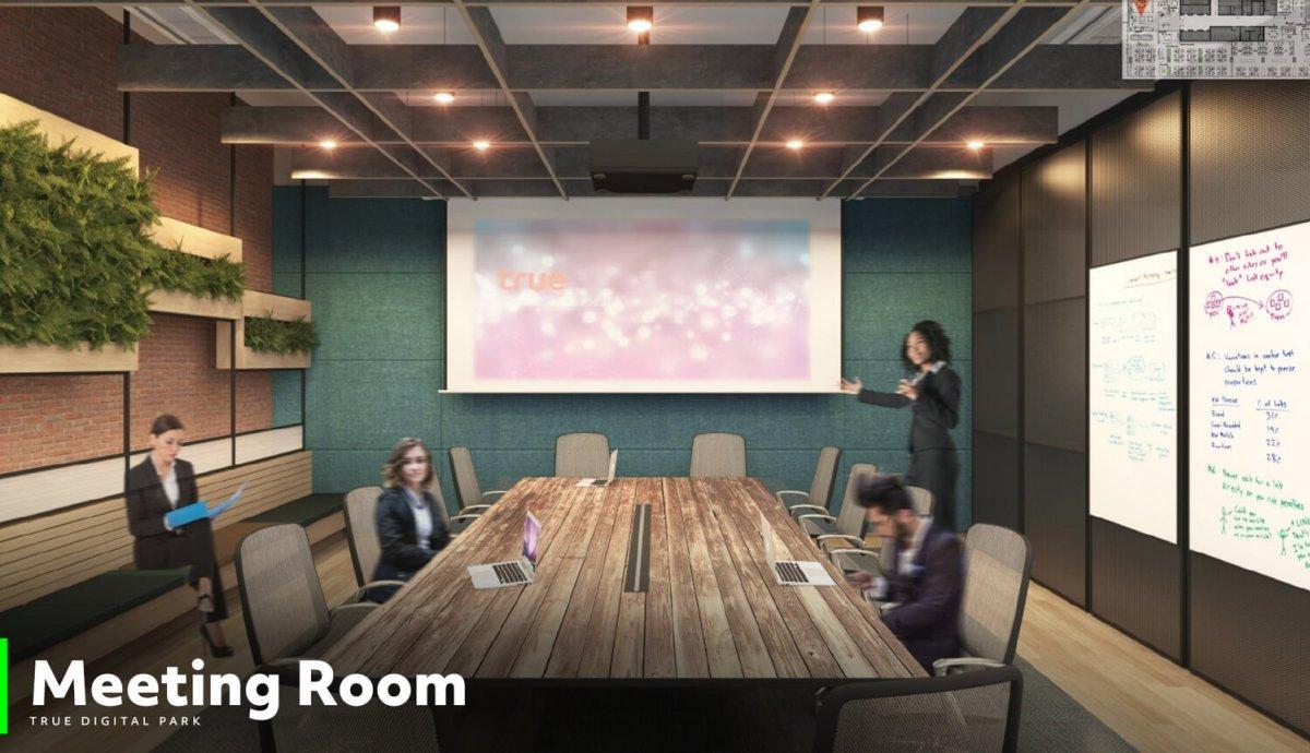 Meeting room 01 ทรู ดิจิทัล พาร์ค...Global Destination ของคนดิจิทัลแห่งแรกในไทย ใหญ่ที่สุดในเอเชียตะวันออกเฉียงใต้ พร้อมเปิดให้สัมผัส Digital Lifestyle ปลายปีนี้!