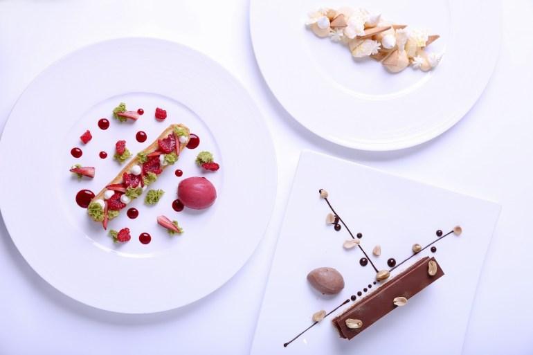 แค่คิดก็ฟิน ขนมหวานสไตล์ฝรั่งเศส แบบฉบับเชฟอเล็กซ์ รัฟฟีโนนี่ ณ ห้องอาหารเรดสกาย 13 -