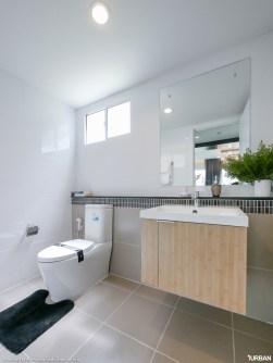 ห้องน้ำชั้นล่าง แบบบ้าน Preen