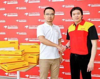 DHL eCommerce ประเทศไทย จับมือ JD CENTRAL มอบบริการจัดส่งพัสดุที่รวดเร็ว 16 -