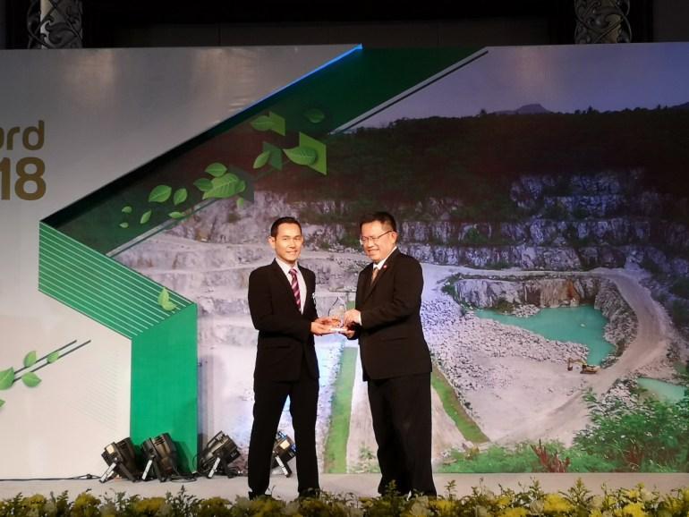 กระทรวงอุตสาหกรรมมอบรางวัลเหมืองแร่สีเขียวแก่โรงงานยิปรอค ในงาน Green Mining Award 2018 13 -