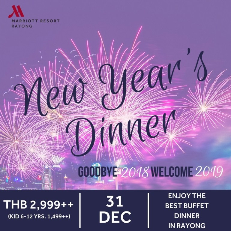 New Year's Eve Celebration At Rayong Marriott Resort & Spa 13 -