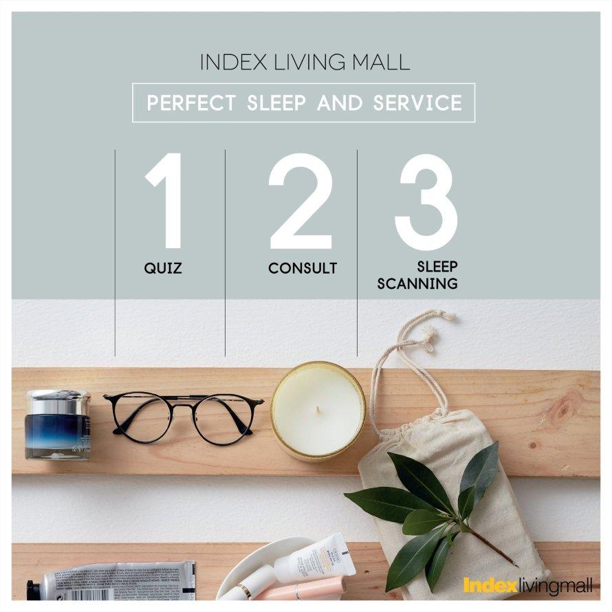 เพิ่มคุณภาพชีวิตได้ด้วยการนอนที่ Perfect Sleep Index Living Mall ปัญหานอนหลับไม่สนิท ปวดเมื่อย นอนเยอะแล้วยังเพลีย บริการให้คำปรึกษา ฟรี! 19 - index
