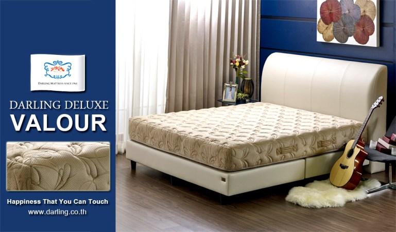 ภาพแนะนำผลิตภัณฑ์ DARLING DELUXE VALOUR ที่นอนพ็อคเก็ตสปริงหุ้มผ้าขนนก หรูหรานุ่มนวลระดับ 5ดาว 13 -