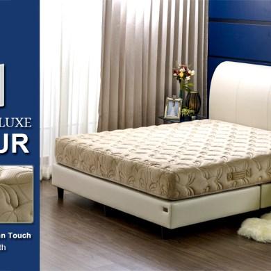 ภาพแนะนำผลิตภัณฑ์ DARLING DELUXE VALOUR ที่นอนพ็อคเก็ตสปริงหุ้มผ้าขนนก หรูหรานุ่มนวลระดับ 5ดาว 16 -