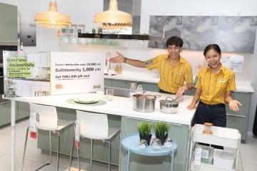 อิเกียชวนช้อปรับต้นปี ส่งสินค้ายอดนิยมมาให้เลือกช้อปในราคาที่คุ้มกว่าเคย พร้อมรับบัตรของขวัญ 1,000 บาท เมื่อซื้อชุดครัวเมท็อด ครบทุก 10,000 บาท 2 - kitchen