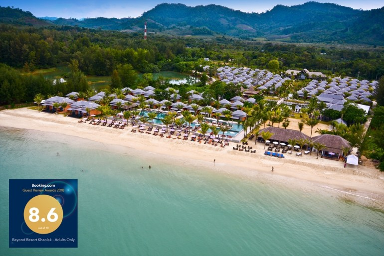Beyond Resort Khaolak wins Guest Review Award 2018 from Booking.com 13 -