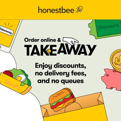 อร่อยได้ไม่ง้อคิว ประหยัดเงิน เซฟเวลา กับบริการใหม่ 'TAKEAWAY' ใน honestbee แอปสั่งอาหารล่วงหน้ายอดฮิตจากสิงคโปร์ 18 -