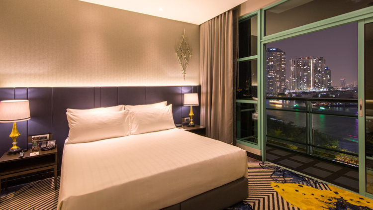 แพคเกจห้องพักสำหรับนักธุรกิจ ณ โรงแรมชาเทรียม ริเวอร์ไซด์ กรุงเทพฯ 13 -