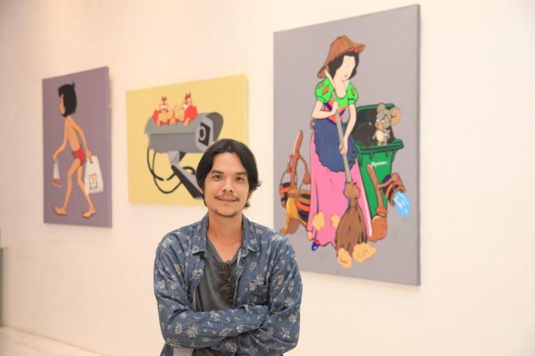 """เอ็มควอเทียร์ จัดแสดงผลงานศิลปะ """"Bangkok Disney"""" 13 -"""