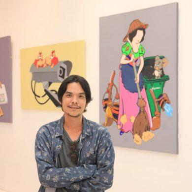 """เอ็มควอเทียร์ จัดแสดงผลงานศิลปะ """"Bangkok Disney"""" 15 -"""