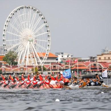 การแข่งเรือยาวช้างไทย การกุศล ชิงถ้วยพระราชทานสมเด็จพระเจ้าอยู่หัว ครั้งแรกของประเทศไทยเริ่มต้นพร้อมความสนุกครบรส 15 -