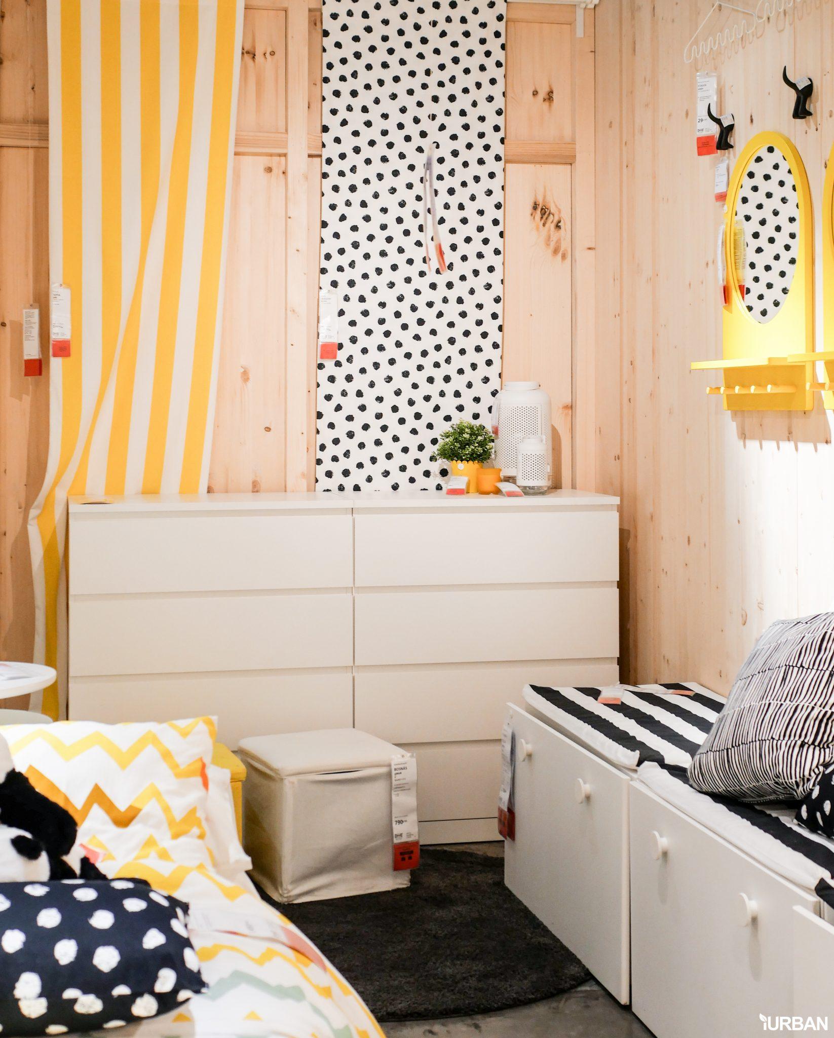 """9 วิธีจัดห้องเก่าให้เหมือนใหม่ ลอกวิธีจัดห้องในพื้นที่เล็ก """"Small Space"""" แบบ IKEA 61 - Bedroom"""