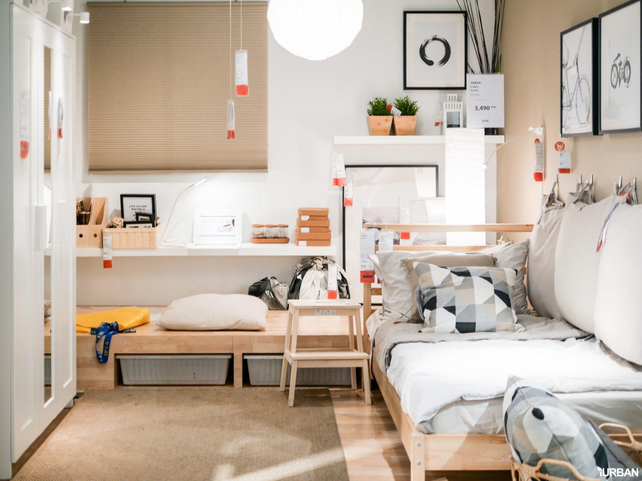 """9 วิธีจัดห้องเก่าให้เหมือนใหม่ ลอกวิธีจัดห้องในพื้นที่เล็ก """"Small Space"""" แบบ IKEA 20 - Bedroom"""