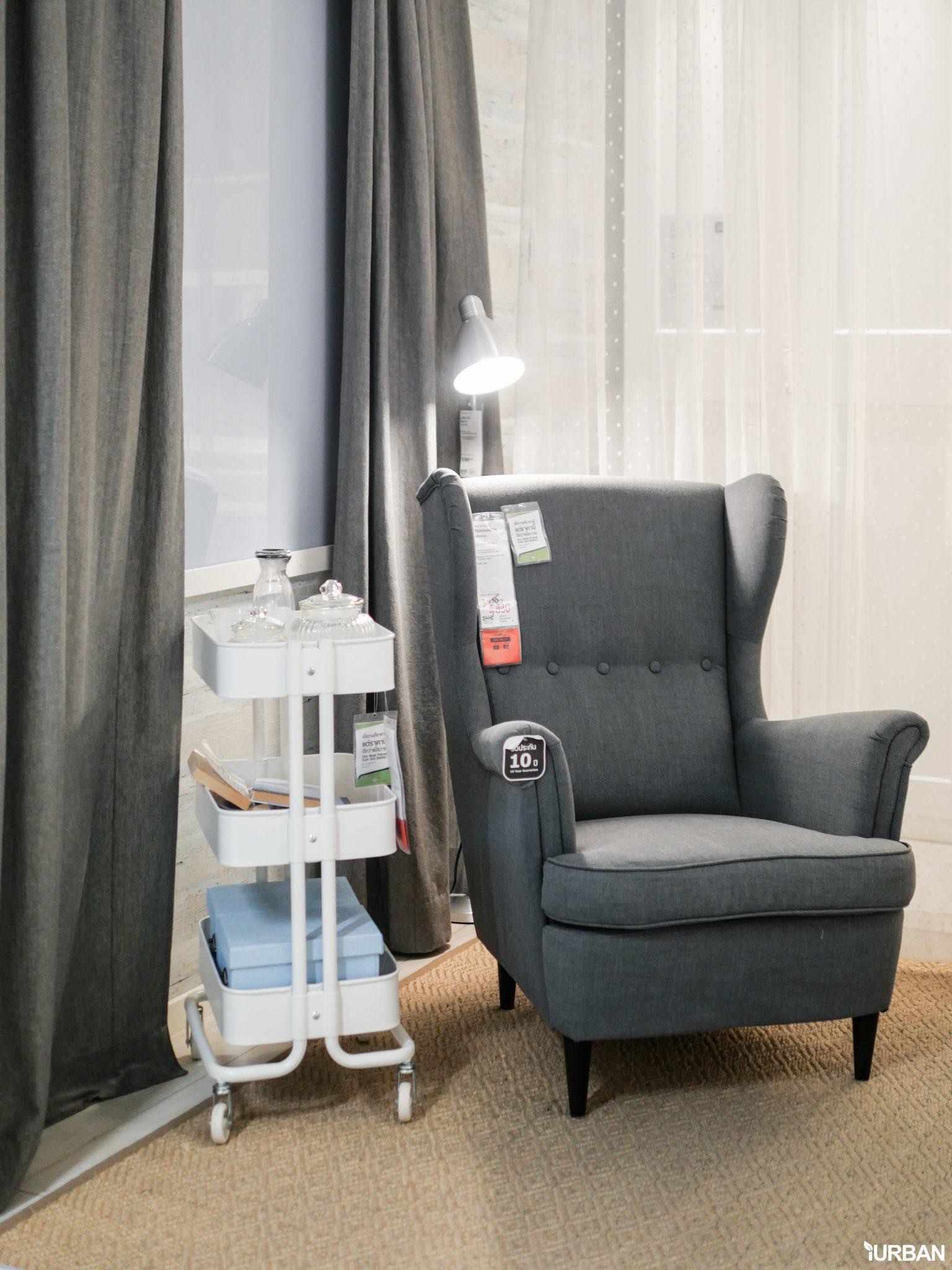 """9 วิธีจัดห้องเก่าให้เหมือนใหม่ ลอกวิธีจัดห้องในพื้นที่เล็ก """"Small Space"""" แบบ IKEA 44 - Bedroom"""