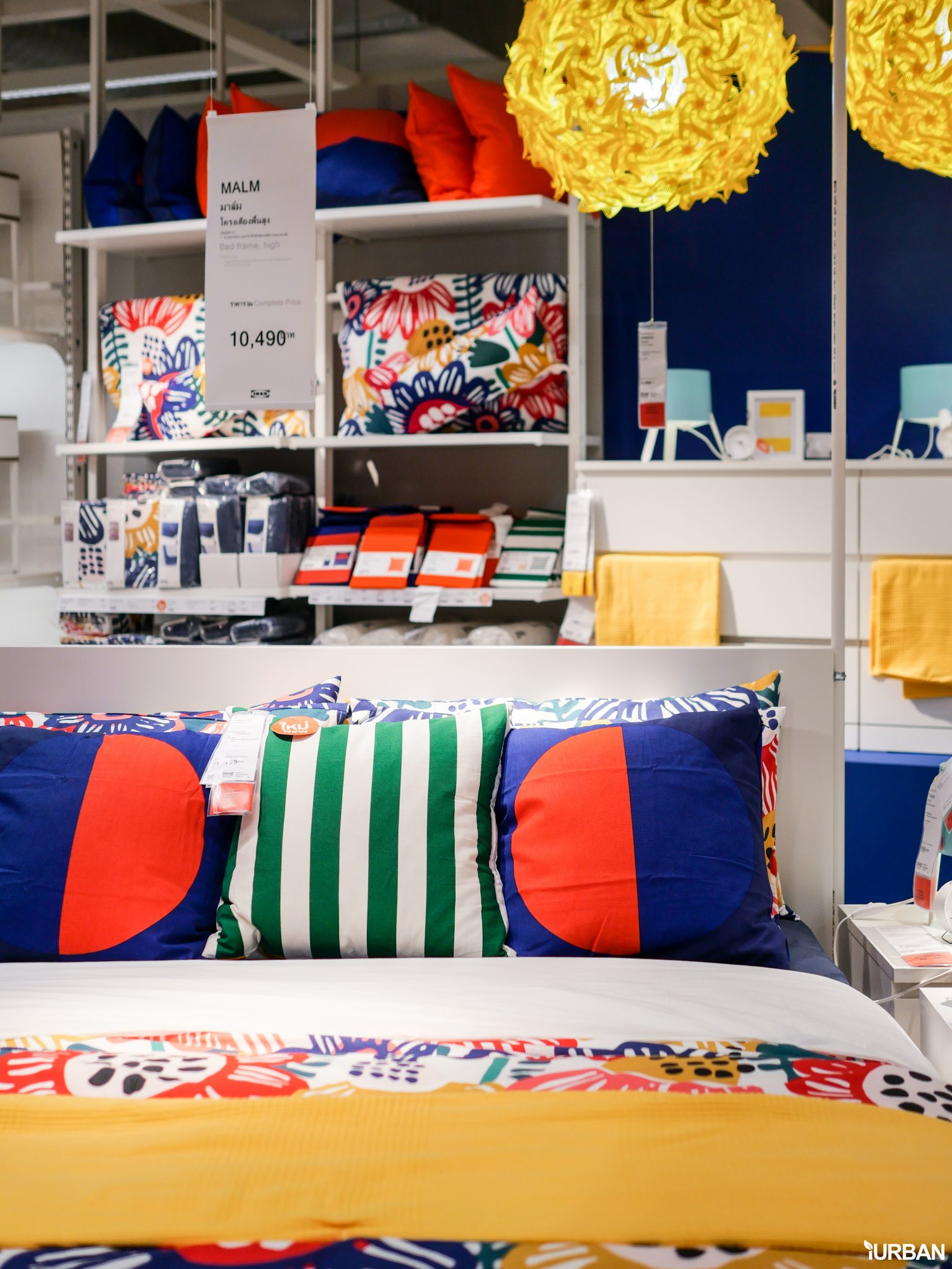 """9 วิธีจัดห้องเก่าให้เหมือนใหม่ ลอกวิธีจัดห้องในพื้นที่เล็ก """"Small Space"""" แบบ IKEA 126 - Bedroom"""