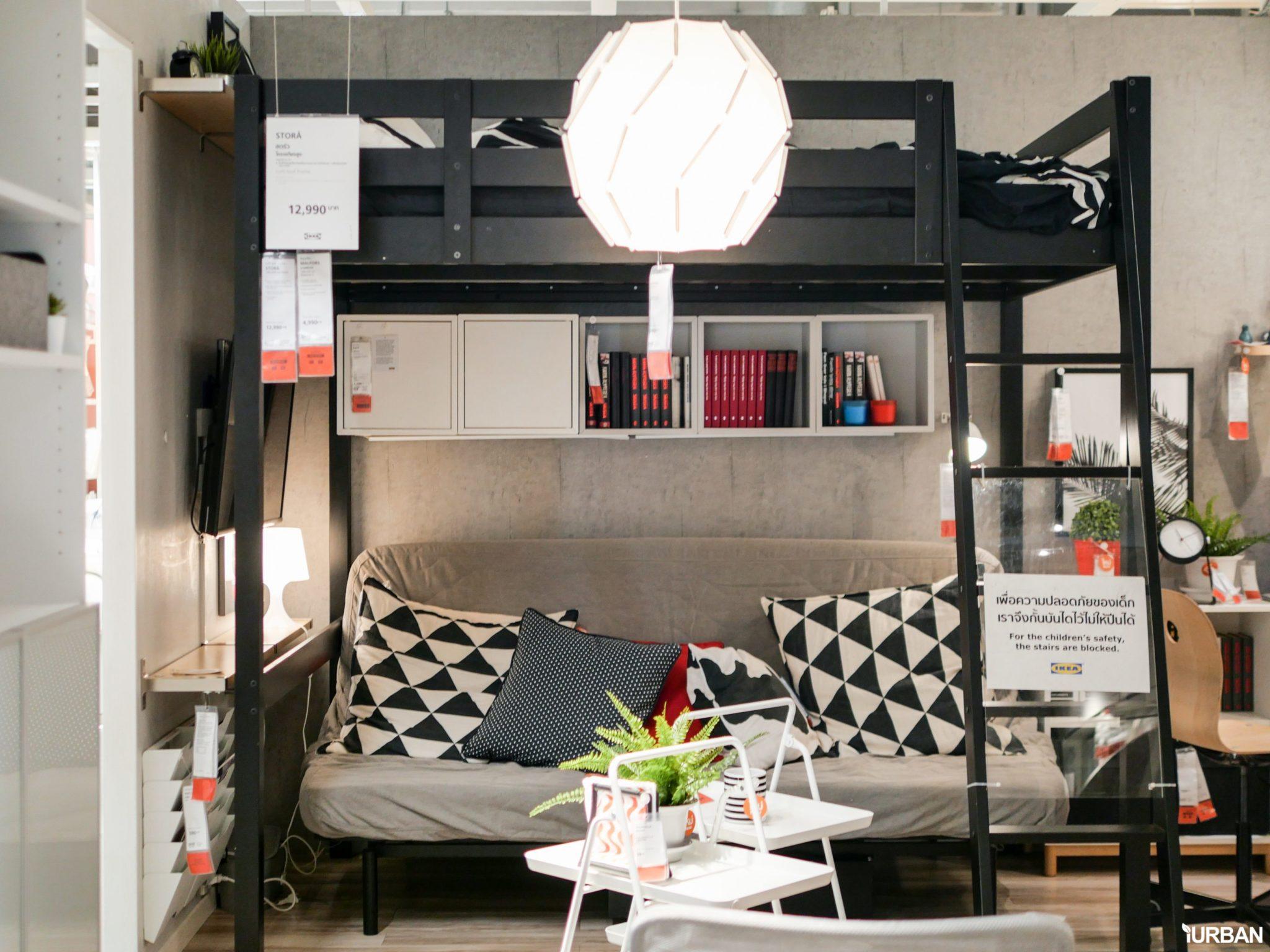 """9 วิธีจัดห้องเก่าให้เหมือนใหม่ ลอกวิธีจัดห้องในพื้นที่เล็ก """"Small Space"""" แบบ IKEA 65 - Bedroom"""