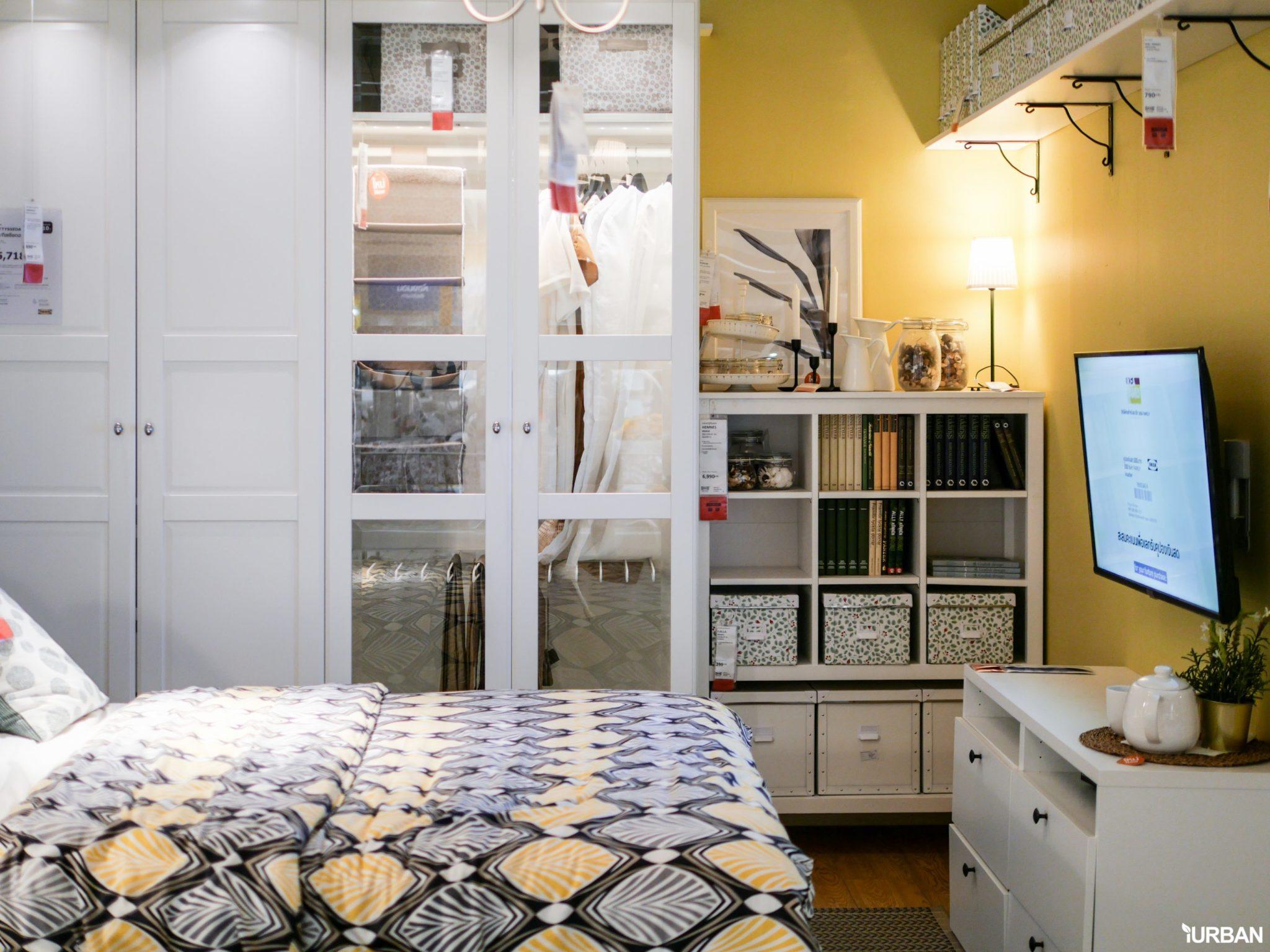 """9 วิธีจัดห้องเก่าให้เหมือนใหม่ ลอกวิธีจัดห้องในพื้นที่เล็ก """"Small Space"""" แบบ IKEA 83 - Bedroom"""