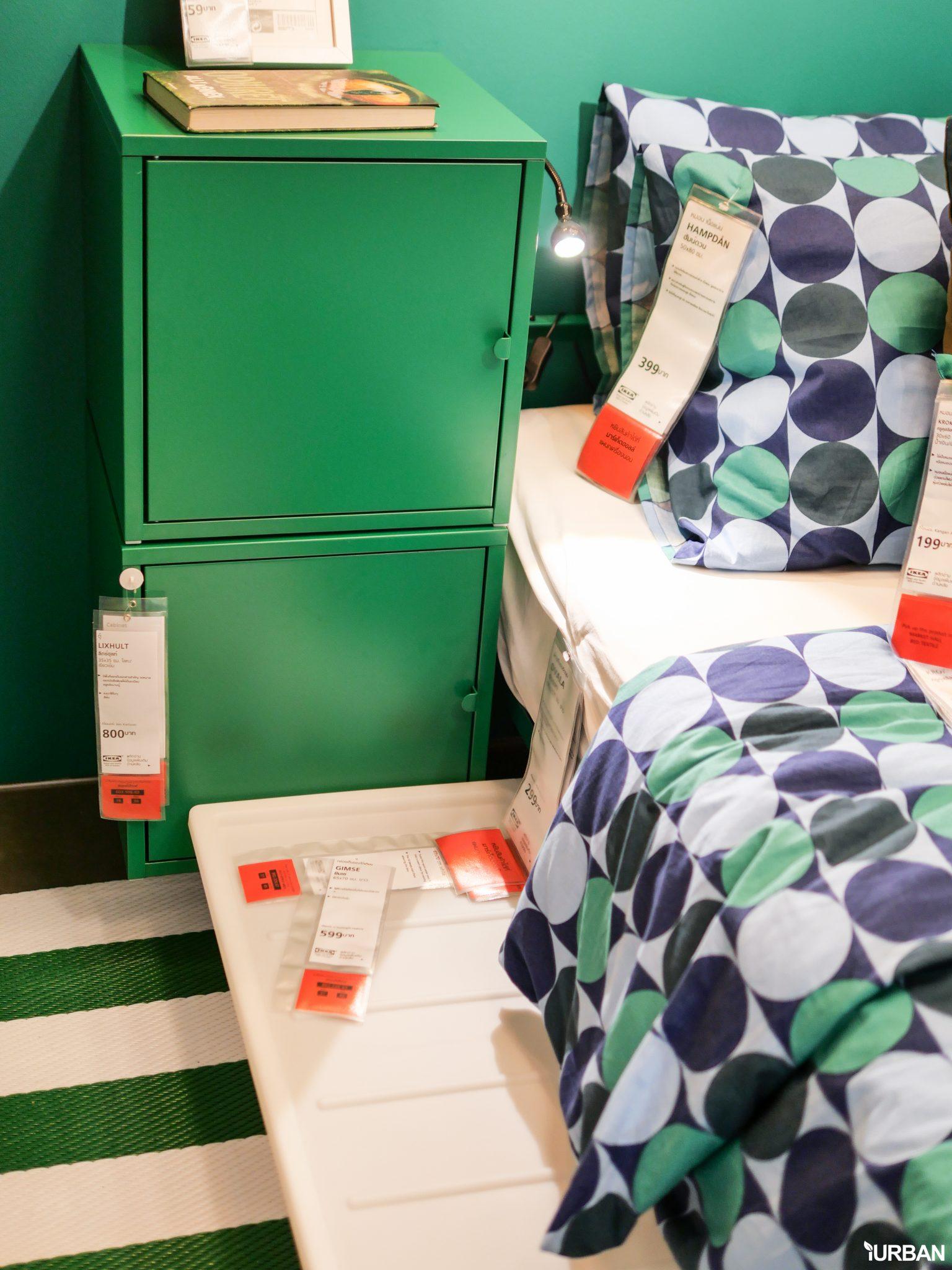 """9 วิธีจัดห้องเก่าให้เหมือนใหม่ ลอกวิธีจัดห้องในพื้นที่เล็ก """"Small Space"""" แบบ IKEA 121 - Bedroom"""