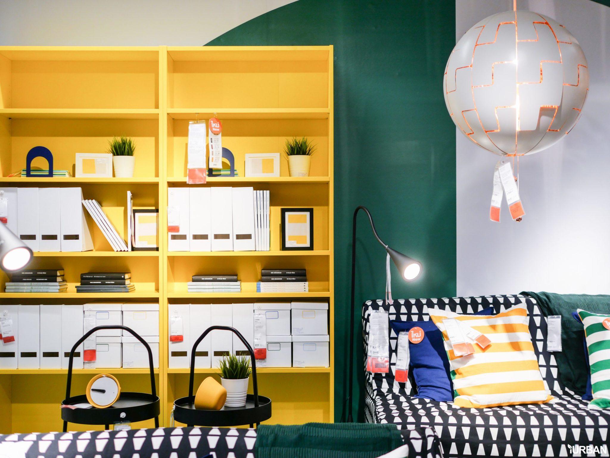 """9 วิธีจัดห้องเก่าให้เหมือนใหม่ ลอกวิธีจัดห้องในพื้นที่เล็ก """"Small Space"""" แบบ IKEA 128 - Bedroom"""