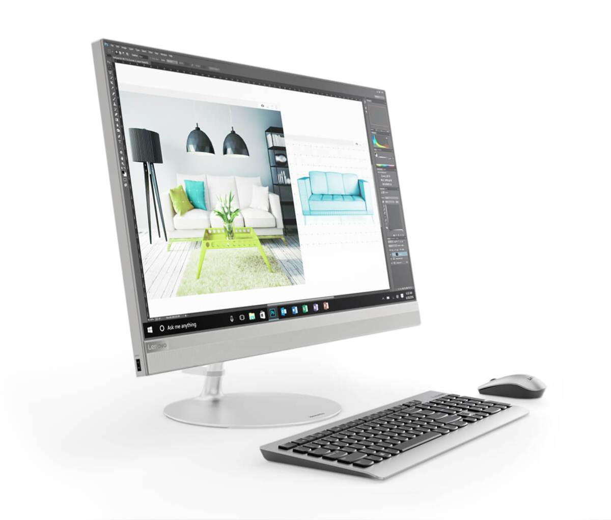 10 คอมพิวเตอร์ตั้งโต๊ะ ราคาถูก 2019 ดีไซน์สวย สเป็คดี 26 - Acer