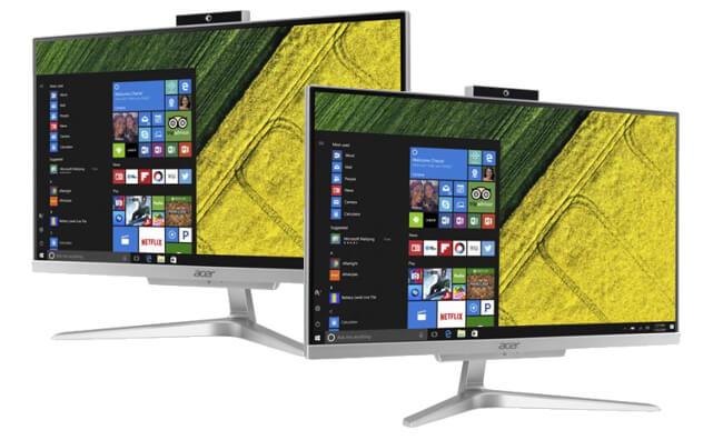 รีวิว 10 คอมพิวเตอร์ตั้งโต๊ะ ราคาถูก ดีไซน์สวย สเป็คดี 124 - Acer