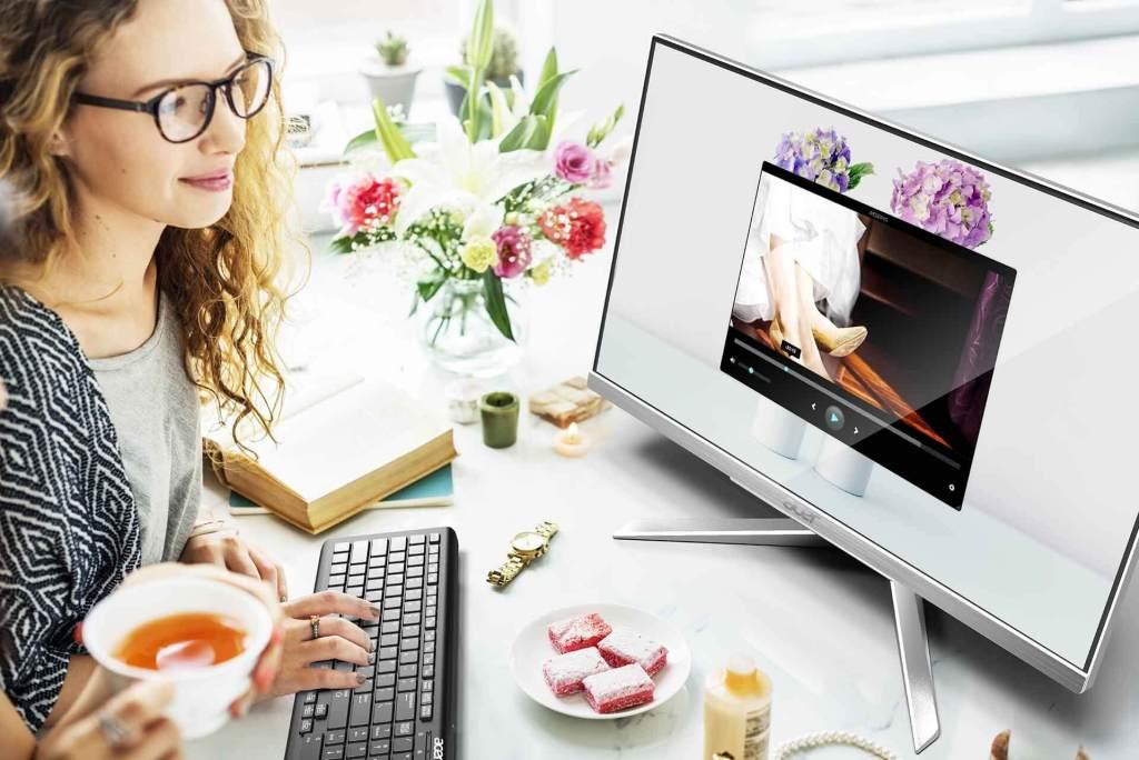 รีวิว 10 คอมพิวเตอร์ตั้งโต๊ะ ราคาถูก ดีไซน์สวย สเป็คดี 125 - Acer