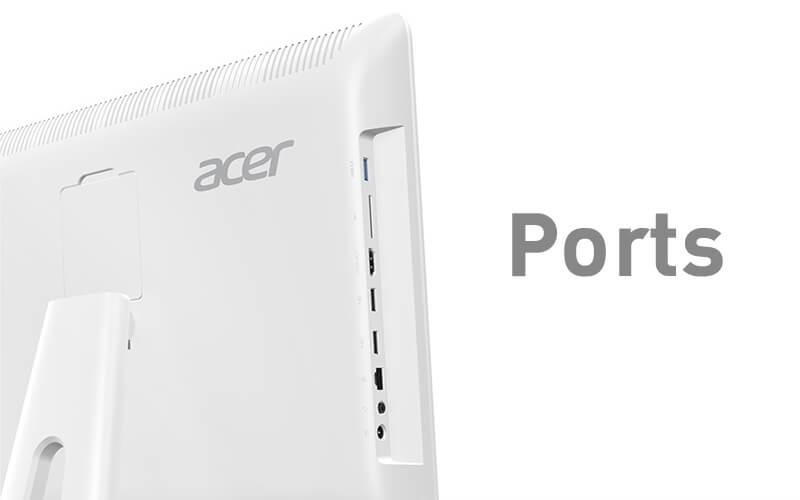 10 คอมพิวเตอร์ตั้งโต๊ะ ราคาถูก 2019 ดีไซน์สวย สเป็คดี 36 - Acer