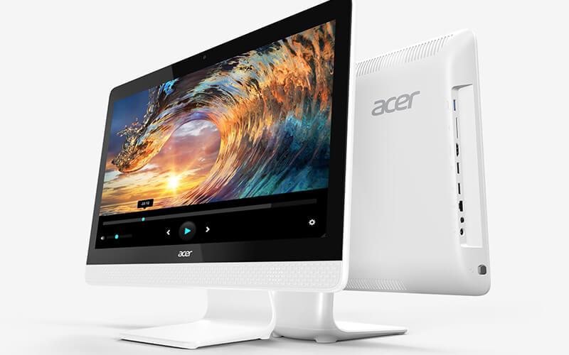 รีวิว 10 คอมพิวเตอร์ตั้งโต๊ะ ราคาถูก ดีไซน์สวย สเป็คดี 114 - Acer