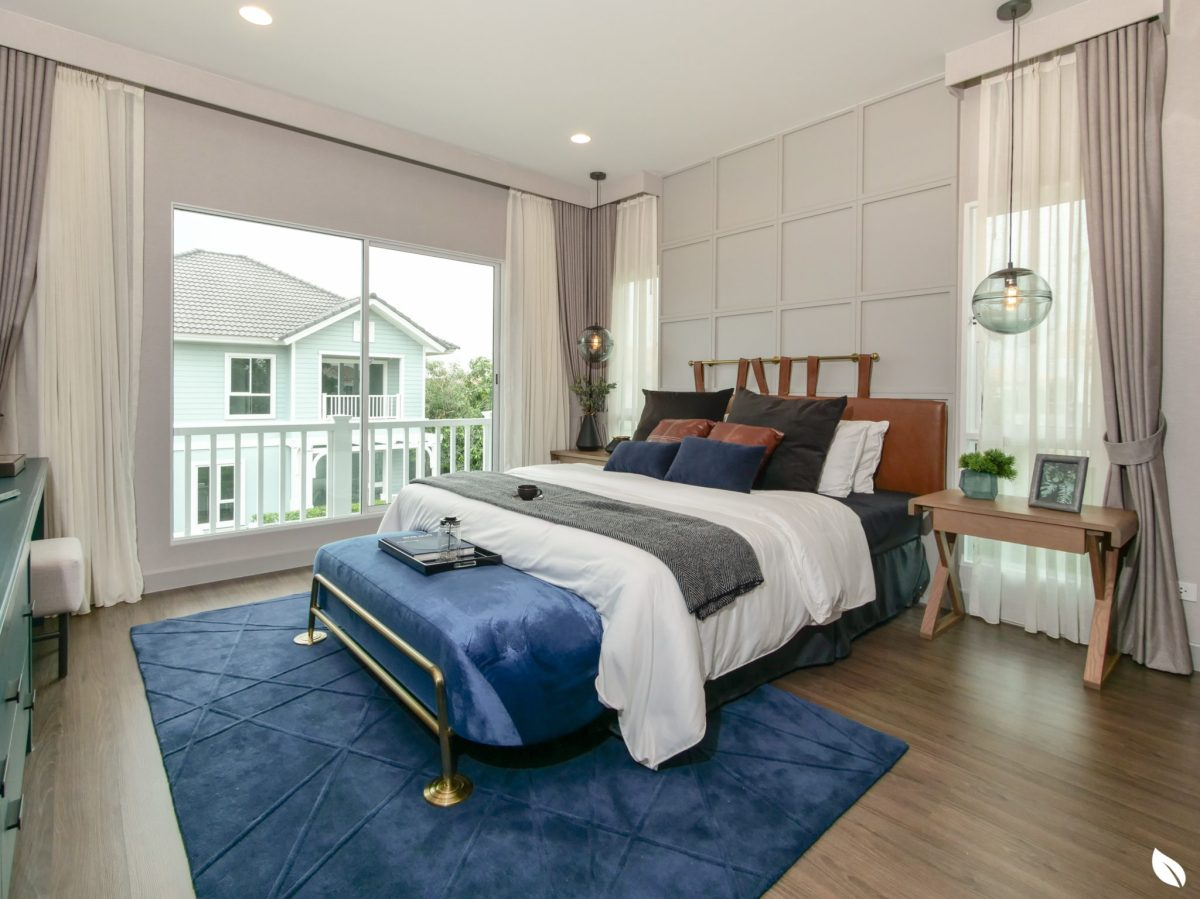 รีวิว บุราสิริ ปัญญาอินทรา บ้านเดี่ยวสวยสไตล์ New England Colonial ส่วนกลางกว่า 13 ไร่โดย SANSIRI 93 - burasiri