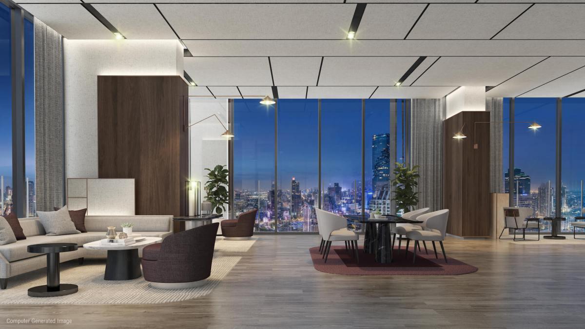 ANIL Sathorn 12 คอนโดสาทรสุดหรูที่ยกระดับคุณภาพชีวิตของผู้พักอาศัย ด้วยมาตรฐาน WELL Building Standard 36 - GRAND UNITY