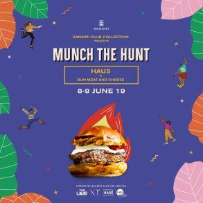 Sansiri Club Collection Presents Munch the Hunt ประสบการณ์ใหม่กับข้อเสนอสุดพิเศษ พร้อมเมนูเด็ดจากร้านดัง เพียงเยี่ยมชม Sales Gallery ของ Sansiri Club Collection 4 แบรนด์ไลฟ์สไตล์ THE LINE, HAUS, XT และ THE BASE 17 -