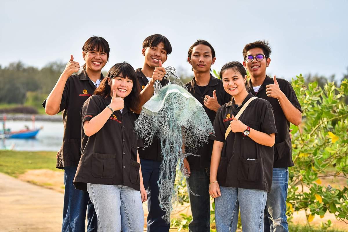 """โครงการนิสสัน """"แค่ใจก็เพียงพอ"""" ช่วยเสริมสร้างรายได้ให้ชุมชน ด้วยการนำของเหลือใช้มาสร้างสรรค์เป็นผลิตภัณฑ์ใหม่ 14 - KMITL"""