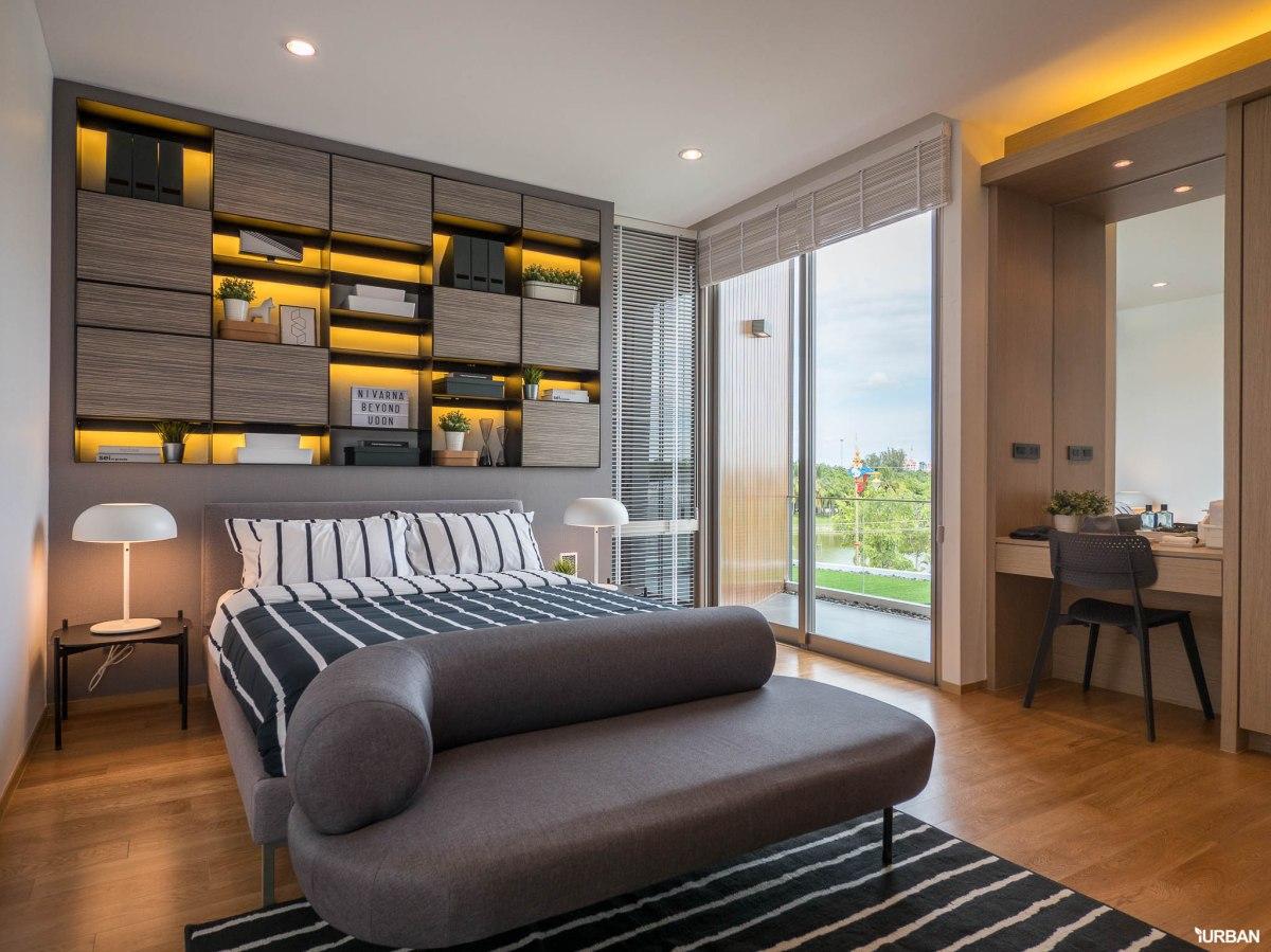 รีวิว Nirvana BEYOND Udonthani บ้านเดี่ยว 3 ชั้น ดีไซน์บิดสุดโมเดิร์น บนที่ดินสุดท้ายหน้าหนองประจักษ์ 159 - Luxury