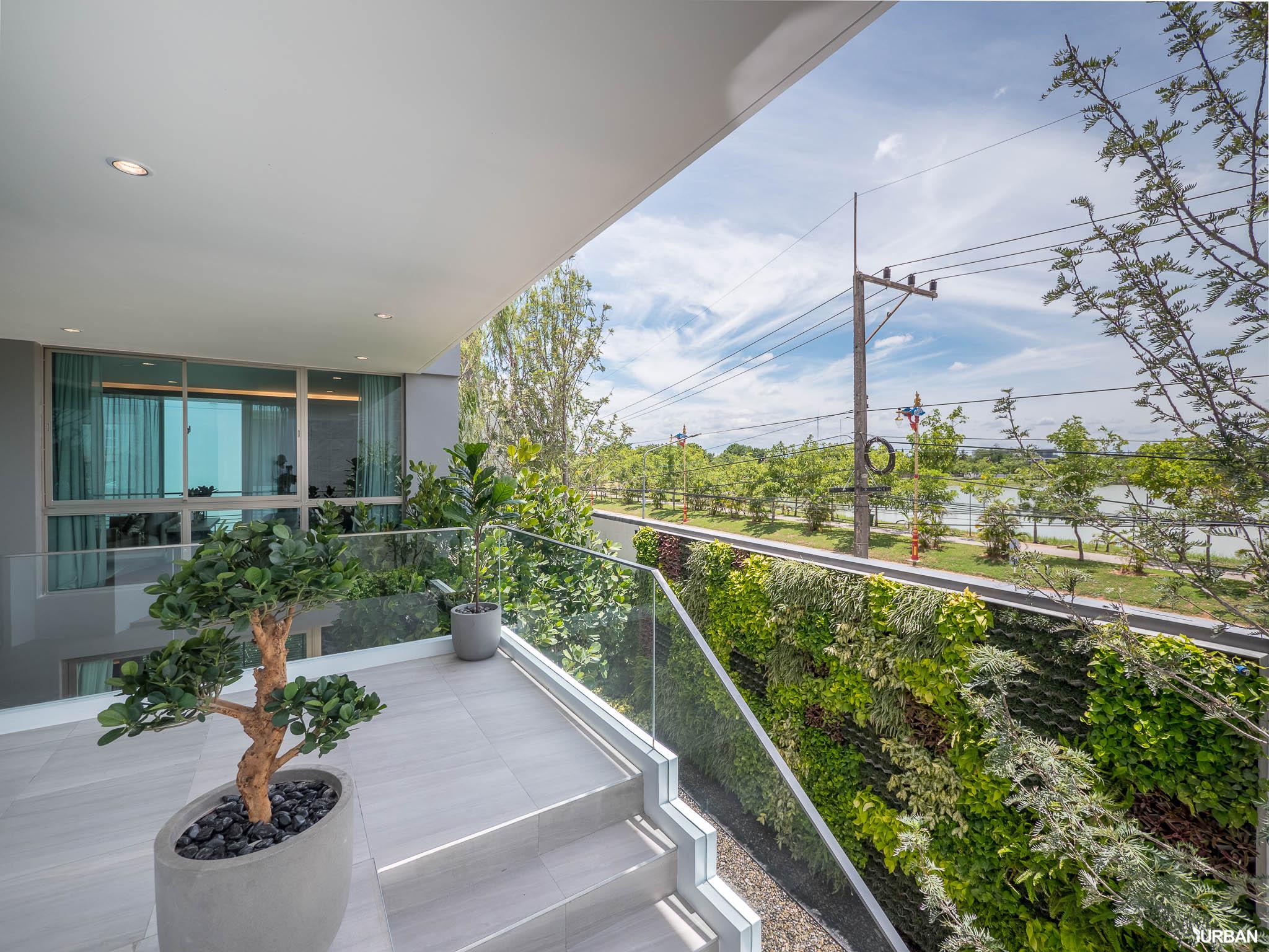 รีวิว Nirvana BEYOND Udonthani บ้านเดี่ยว 3 ชั้น ดีไซน์บิดสุดโมเดิร์น บนที่ดินสุดท้ายหน้าหนองประจักษ์ 56 - Luxury