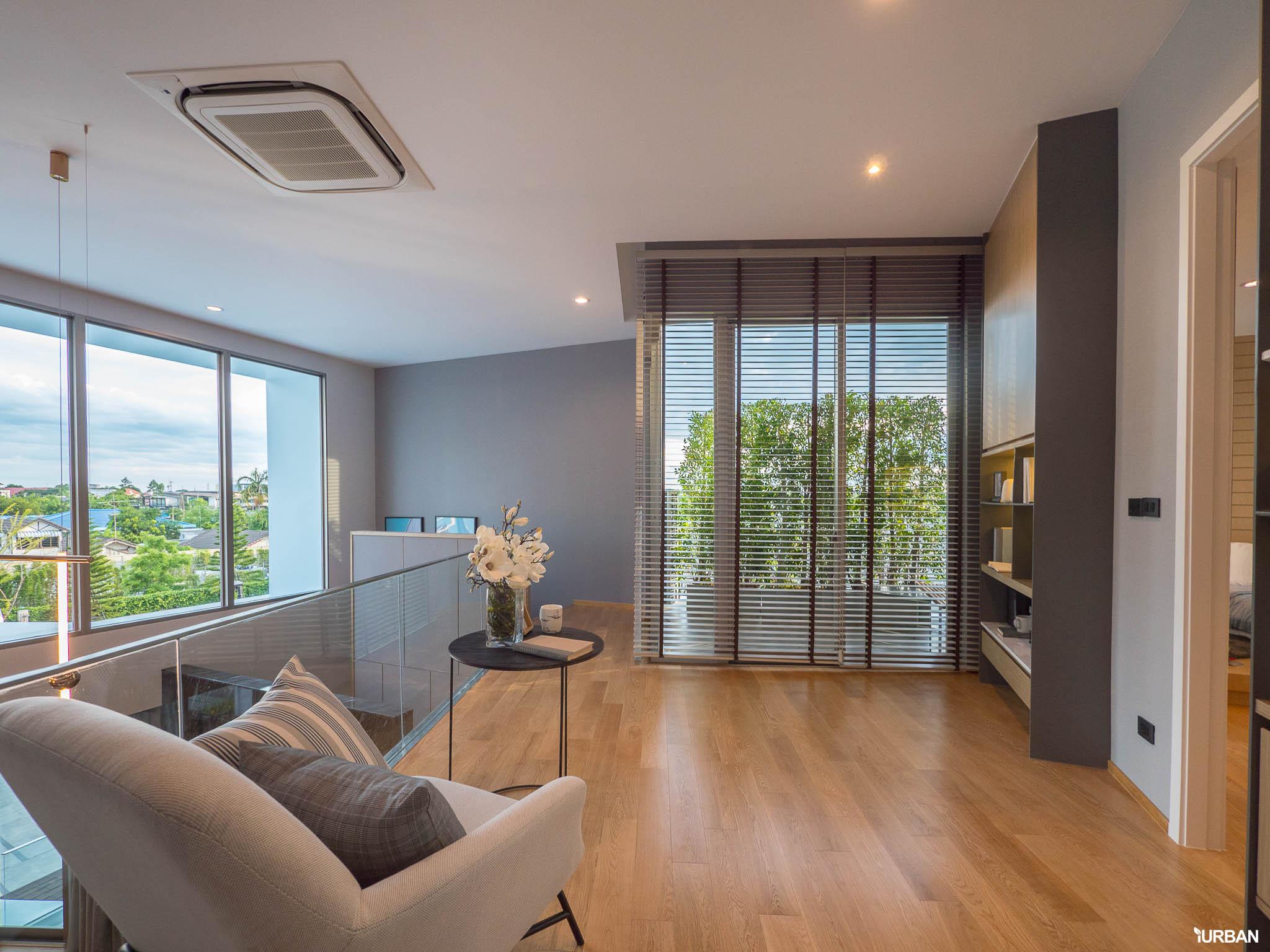 รีวิว Nirvana BEYOND Udonthani บ้านเดี่ยว 3 ชั้น ดีไซน์บิดสุดโมเดิร์น บนที่ดินสุดท้ายหน้าหนองประจักษ์ 76 - Luxury