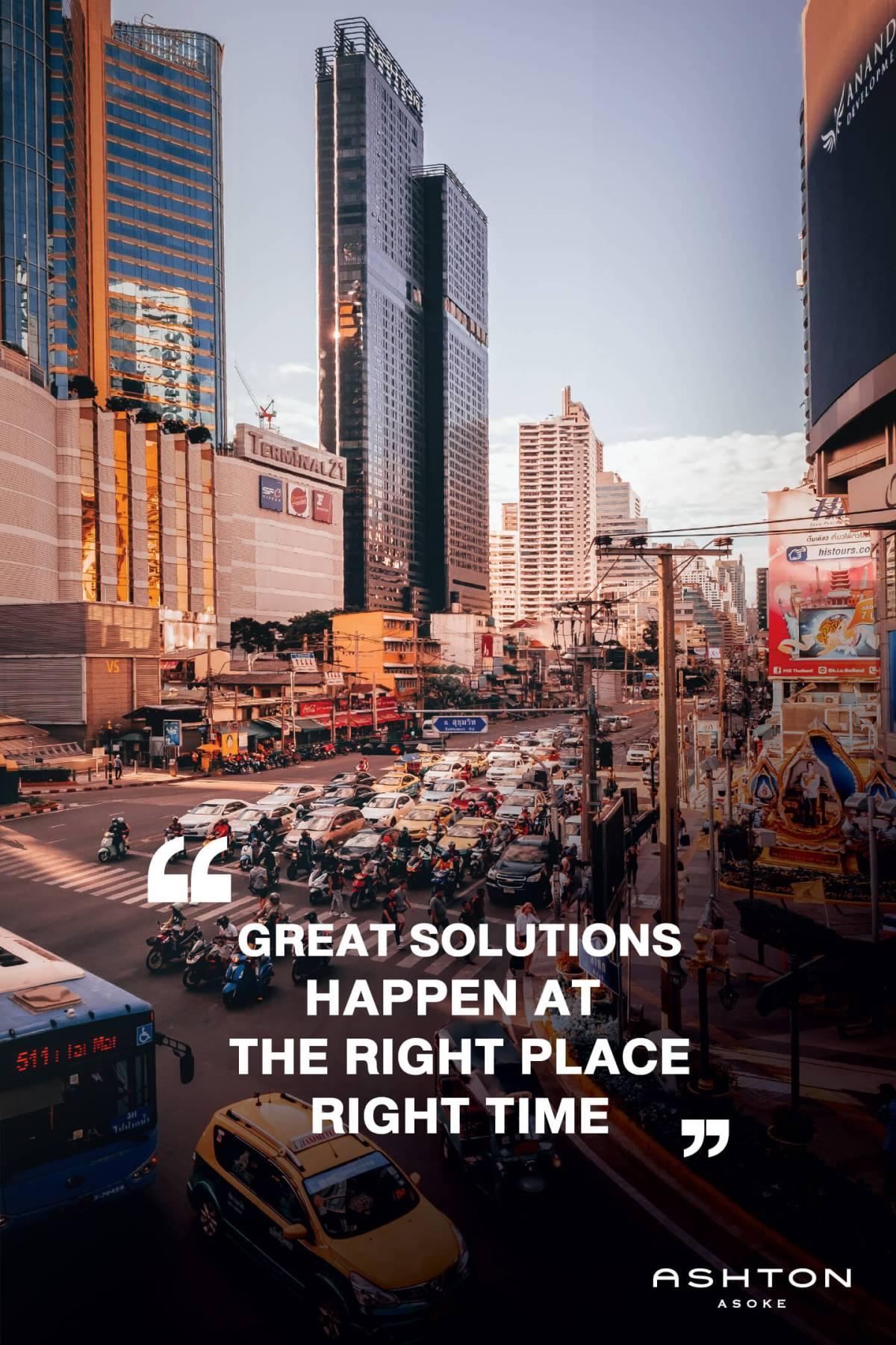 """อนันดาฯ """"คิด... เพื่อชีวิตคนเมือง"""" ตอกย้ำความเป็น Urban Living Solutions ตัวจริง 21 - Ananda"""