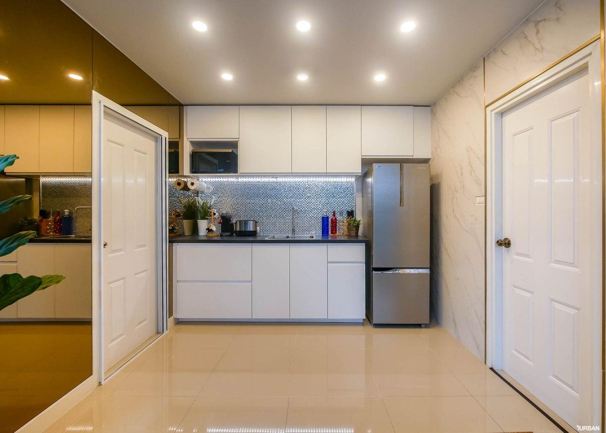 ไอเดียแต่งบ้าน รีโนเวทครัวให้สวยหรูสไตล์ Modern Luxury แบบจบงานไว ไม่กระทบโครงสร้างเดิม 89 - jorakay