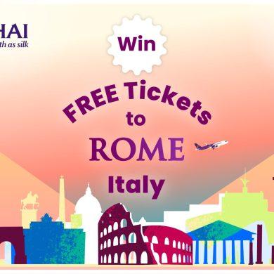 Socialgiver x Thai airways International จับมือมอบตั๋วเครื่องบินฟรี ไปกรุงโรม ประเทศอิตาลี 16 -