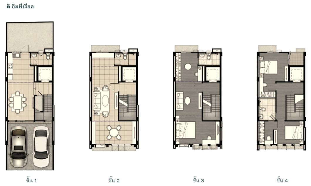 """""""Tiger Lane"""" (ไทเกอร์ เลน) ลักซ์ชัวรี่โฮมออฟฟิศ ครั้งแรกจากแสนสิริ ขุมทรัพย์แห่งการใช้ชีวิต บนที่ดินผืนงามแห่งท้องมังกร ผสานแรงบันดาลใจ การออกแบบสไตล์ """"ชิโน-โปรตุกีส"""" 34 -"""