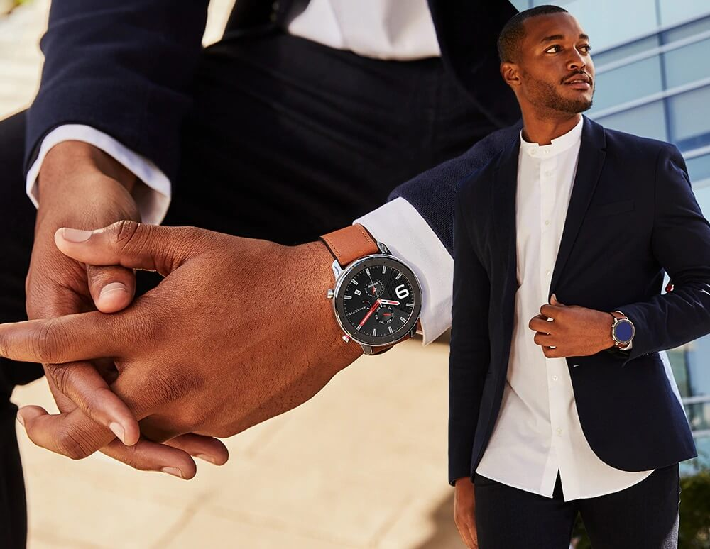"Amazfit GTR : Smart Watch หน้าปัทม์จอ AMOLED ""วัดหัวใจบันทึกชีพจรและจำนวนก้าวตลอดเวลา"" แบตอึดสุด 24 วัน! 36 - Highlight"