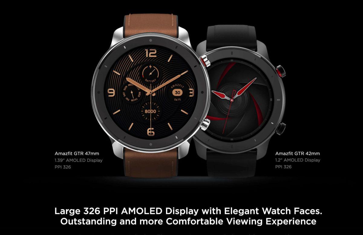 "Amazfit GTR : Smart Watch หน้าปัทม์จอ AMOLED ""วัดหัวใจบันทึกชีพจรและจำนวนก้าวตลอดเวลา"" แบตอึดสุด 24 วัน! 29 - Highlight"