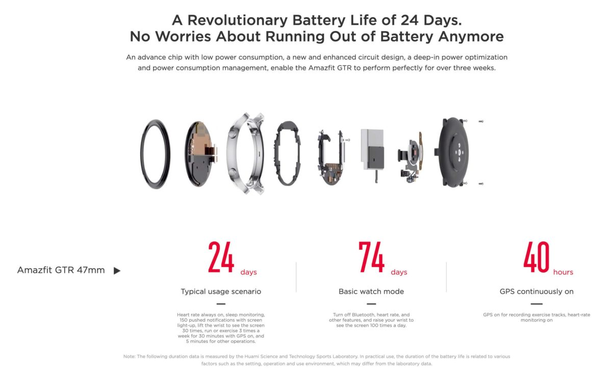 "Amazfit GTR : Smart Watch หน้าปัทม์จอ AMOLED ""วัดหัวใจบันทึกชีพจรและจำนวนก้าวตลอดเวลา"" แบตอึดสุด 24 วัน! 27 - Highlight"