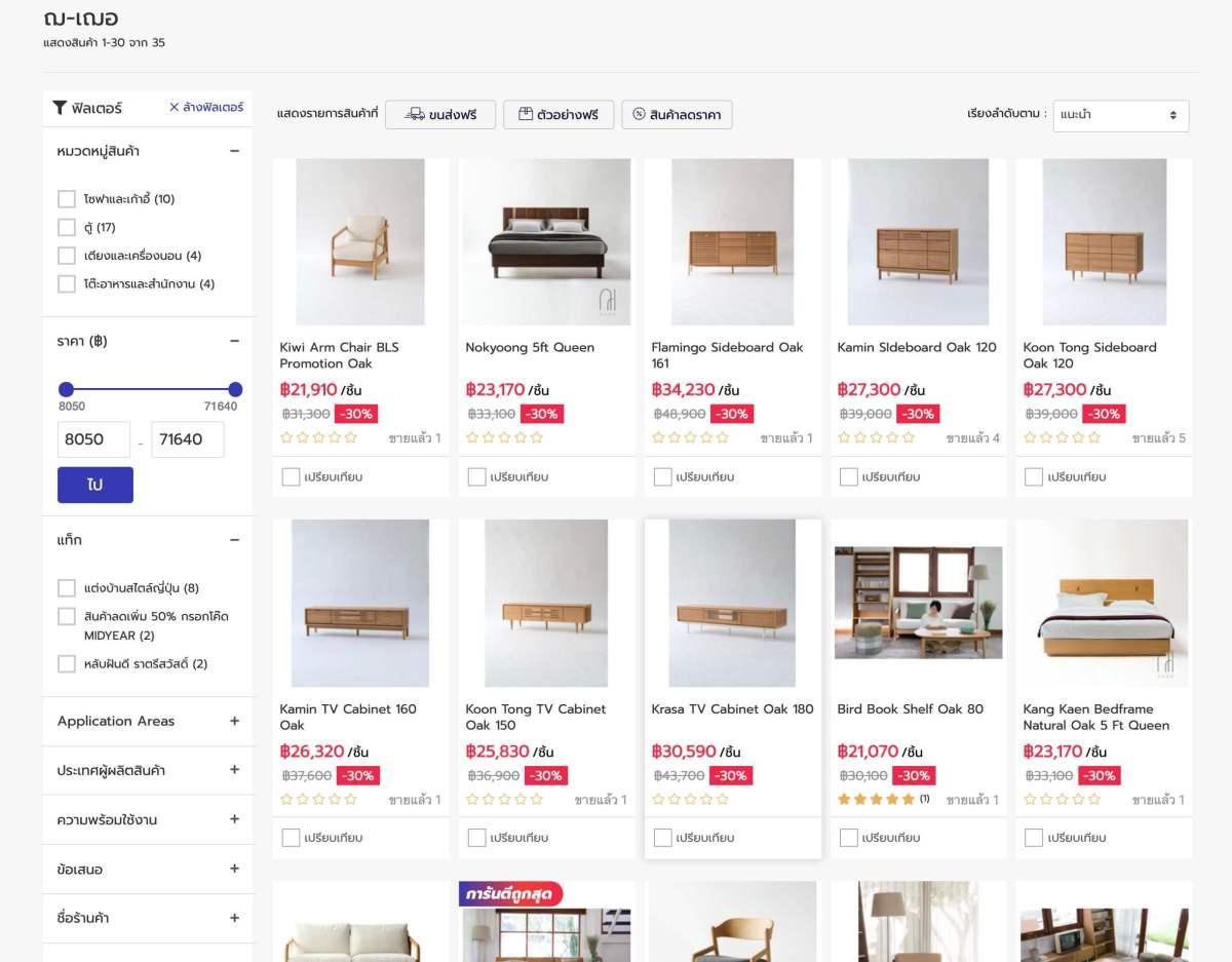 """15 แบรนด์ดัง """"วัสดุและของแต่งบ้าน"""" เล็งเห็นโอกาสบนโลกออนไลน์ ร่วมมือ NocNoc.com แหล่งรวมร้านค้าสำหรับคนรักบ้าน 25 - Marketplace"""