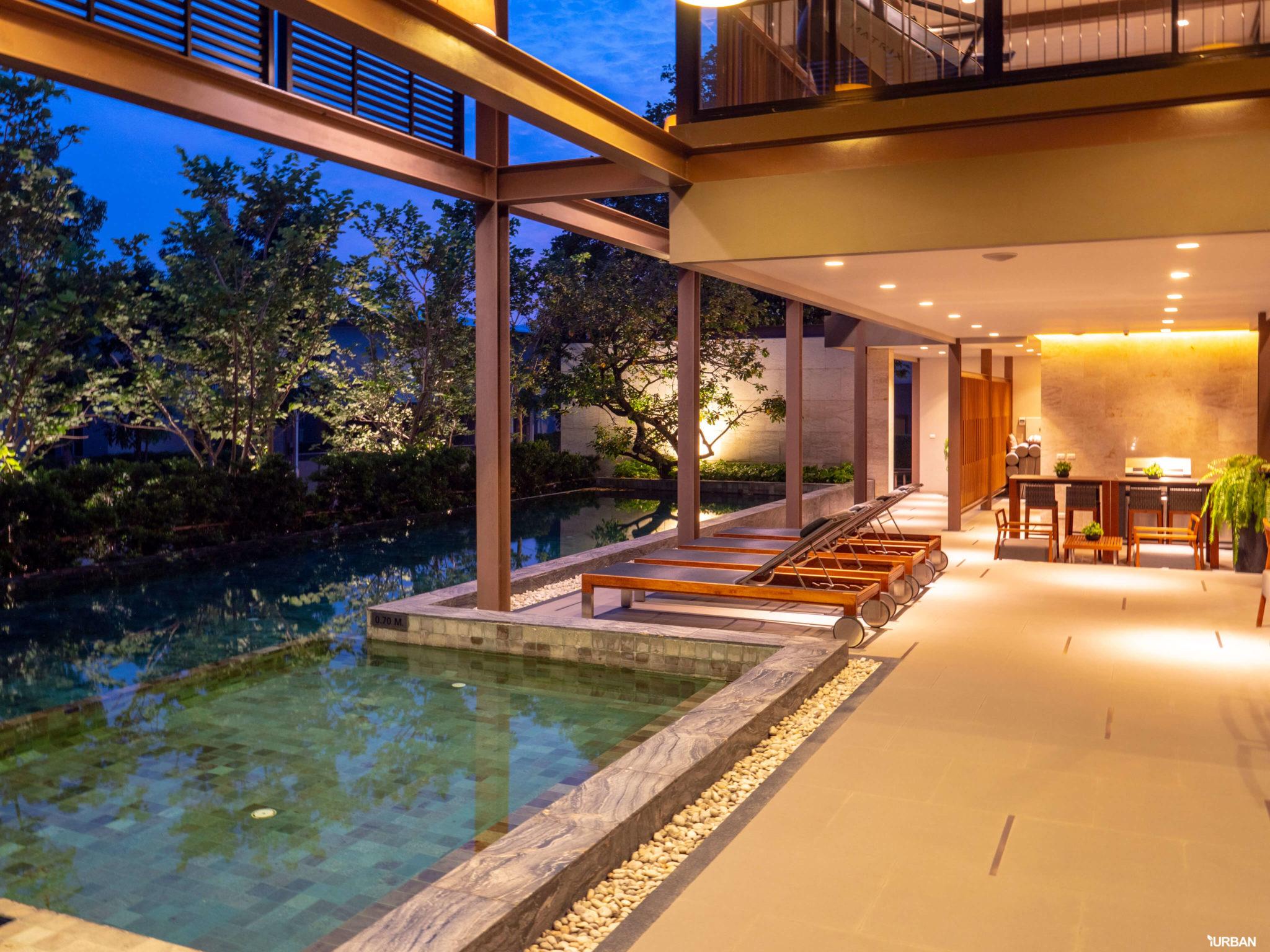 รีวิว บารานี พาร์ค ศรีนครินทร์-ร่มเกล้า บ้านสไตล์ Courtyard House ของไทยที่ได้รางวัลสถาปัตยกรรม 38 - Baranee Park