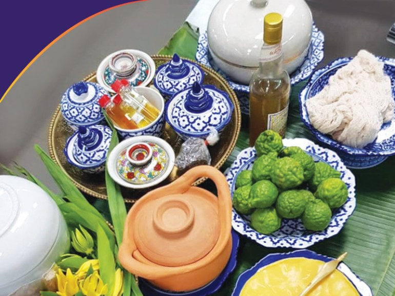 หลักสูตรเทียนอบ น้ำปรุง ขนมไทย ที่ วิทยาลัยดุสิตธานี 13 -